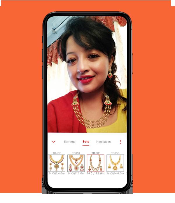 virtual jewellery try on app in Nepal